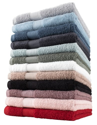Bath towel KARLSTAD dusty blue