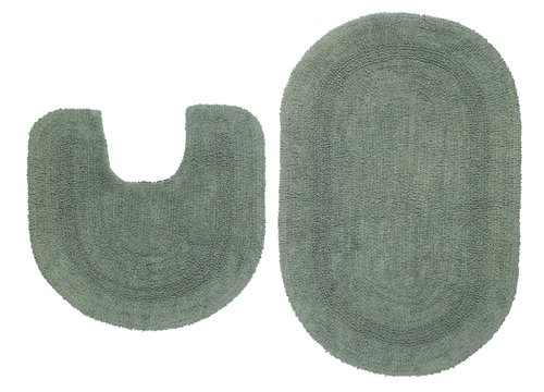 2 piece bath mat set LERDALA asstd.