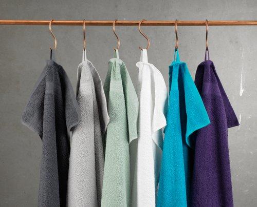 Gæstehåndklæde UPPSALA 30x50 turkis