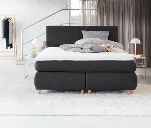 Tăblie de pat 180x125 H20 simplă Gri-41