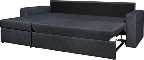 Угловой диван-кровать VILS темно-серый