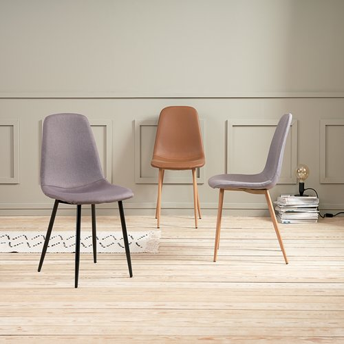 Dining chair JONSTRUP grey/oak
