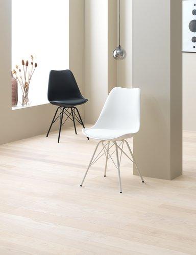 Ruokapöydän tuoli KLARUP musta/musta
