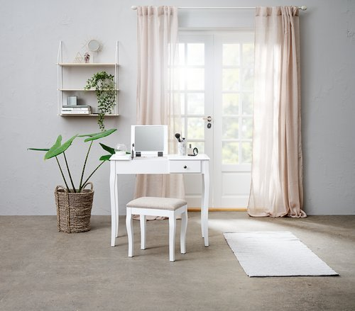 Vegghylle HEJLSMINDE H80 hvit/natur
