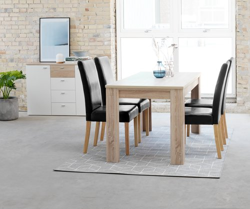 Dining chair TUREBY brown