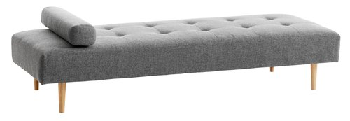 Daybed NOREFJELL donker grijs