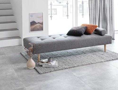 Dnevni krevet NOREFJELL 80x200 tamnosiva