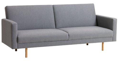 Kauč SANDBJERG svetlo siva