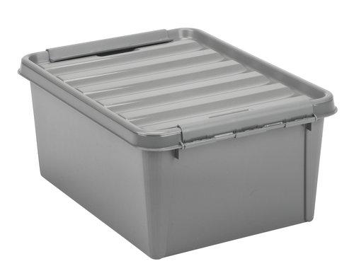 Storage box SMARTSTORE 15 w/lid recycled