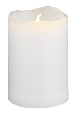 Svijeća SOREN Ø5xV8cm s LED bijela
