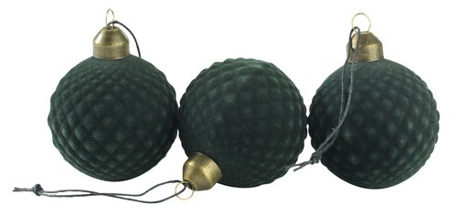 Christmas bauble AMETRIN 3 pack
