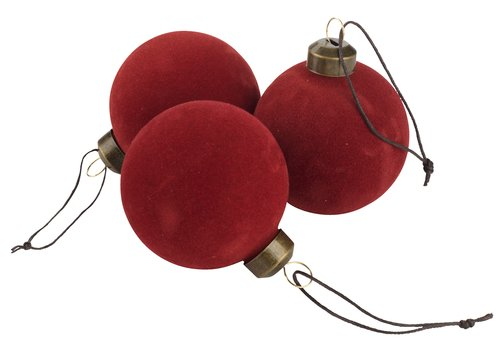 Christmas bauble LARVIKIT 3 pack