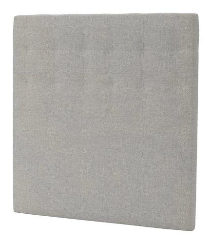 Sengegavl H50 STITCHED 120x125 grå-29