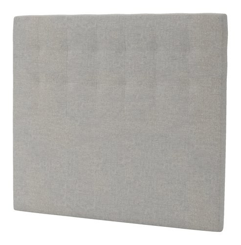 Sengegavl H50 STITCHED 140x125 grå-29