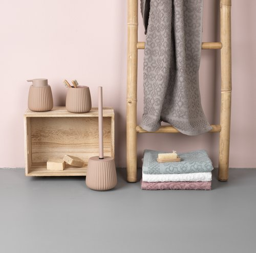 Handdoek STIDSVIG roze
