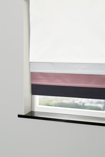 Blackout blind BOLGA 60x170cm rose