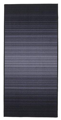 Tapis GULVEIS 67x140 gris foncé