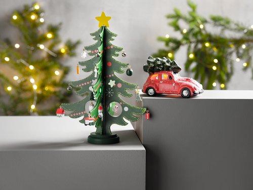 Božićno drvce SIF Ø20xv29cm s ukrasima
