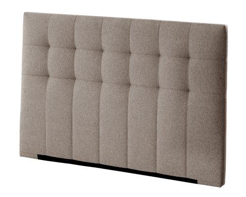Sengegavl HØIE 180x120 stitch grå