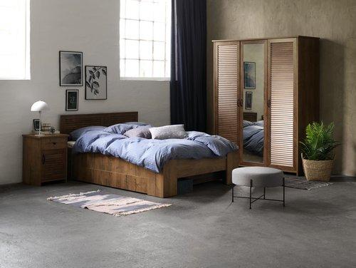 Wardrobe MANDERUP 166x210 wild oak
