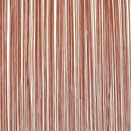 Perdea snur NISSER 90x300 cărămizie