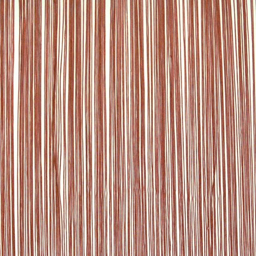 Končana zavesa NISSER 90x245 terakota