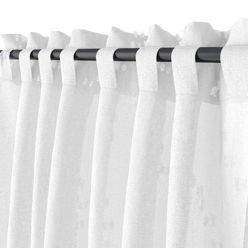 Κουρτίνα GOSSA 1x140x300 λευκό