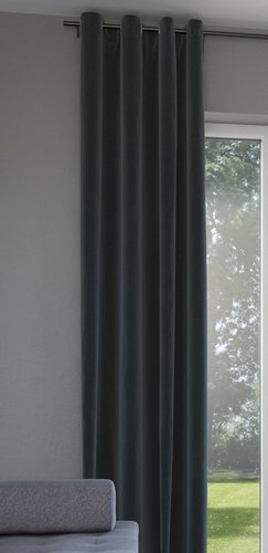 Dekoschal ANTEN 1x140x300 grau