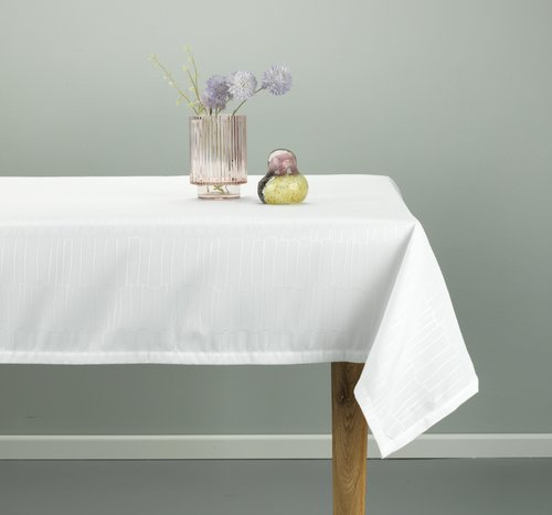 Tablecloth OLVON 140x240 white
