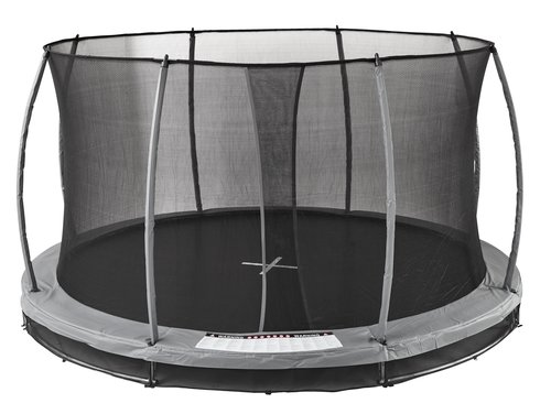 Nedgravet trampolin SUMMEN Ø396 grå