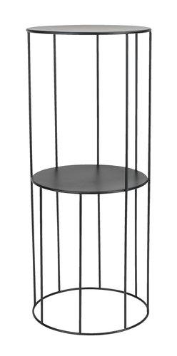 Apupöytä PELLE Ø25xK60cm musta