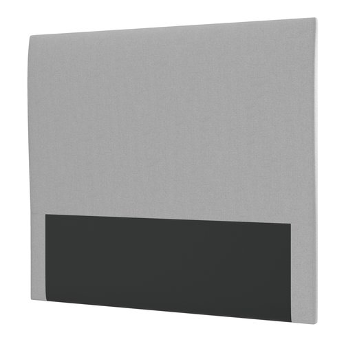 Sengegavl H10 PLAIN 150x115 grå-27
