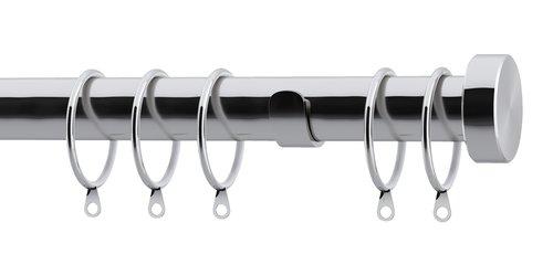 Curtain pole KARATS 250cm silver