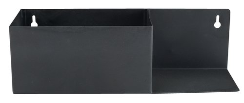 Polica KOLSVA Š10xD30xV9 cm čierna