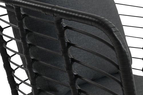 Vrtna garnitura ANTARKTIKA 4,5 os. crna