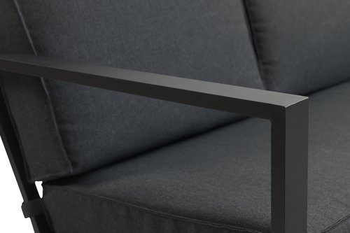 Ülőgarnitúra VONGE 6-személyes fekete