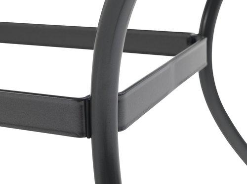 LARVIK L150 grå+4 MADERNE grå