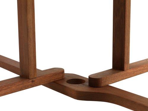 Stol BEVTOFT Ø108 tvrdo drvo