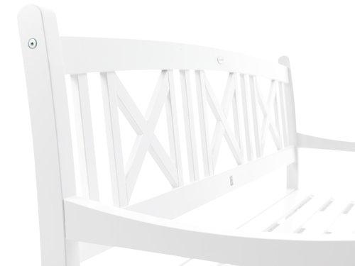 Πάγκος HVIDE SANDE Π158xΒ62 λευκό