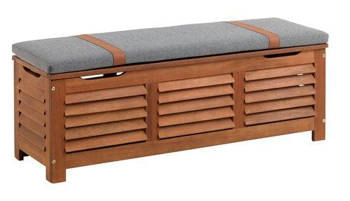 Contenitore KARLBY L128xH43xP42 hardwood