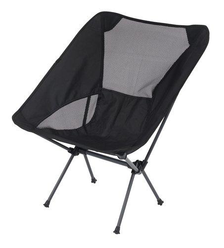 Kempingová stolička UHE čierna