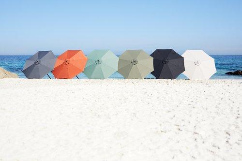 Umbrelă soare AGGER 300 neagră