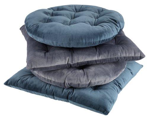Chair cushion HYBENROSE 38x38x4 grey