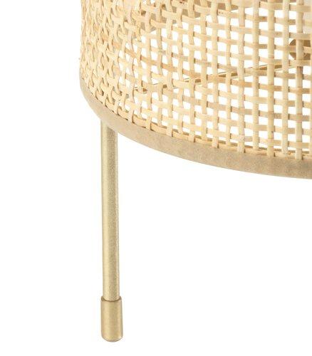 Lampa stołowa ALBERT Ś19xW31cm złoty