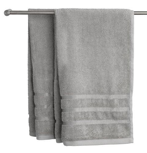 Πετσέτα μπάνιου YSBY ανοιχτό γκρι