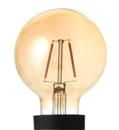 Żarówka TORE 2W E27 G80 100 lumen