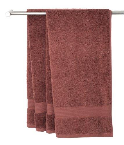 Ręcznik KARLSTAD 40x60 śliwkowy
