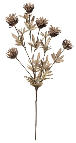 Artificial flower LAVRITS H68 cm brown