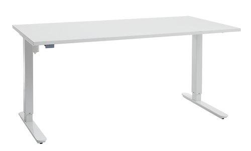 Heve-/senkebord SLANGERUP 80x160 hvit