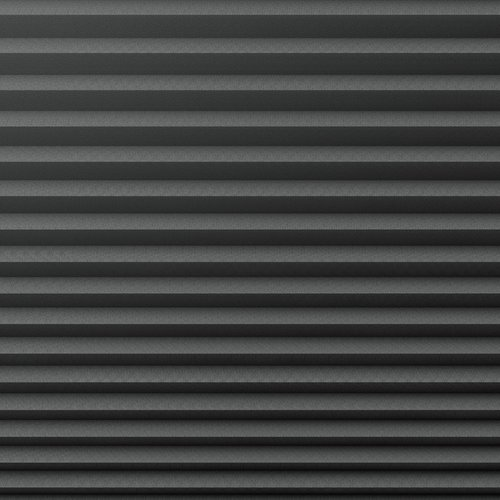Plisségardin lystett HVEN 60x130 grå